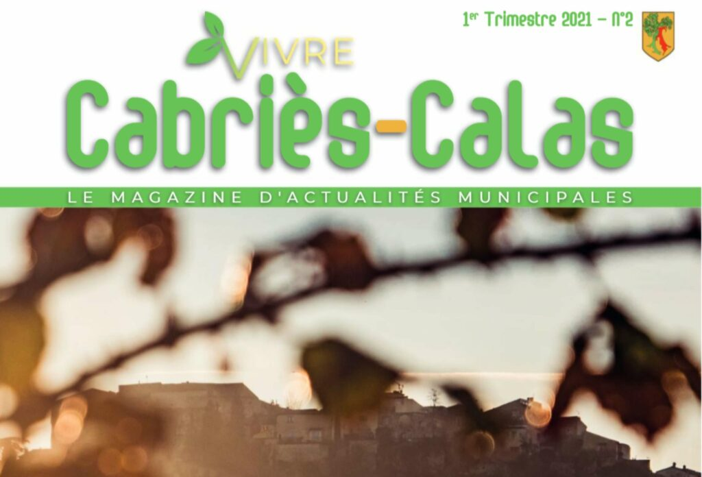 Revue municipale - Vivre Cabriès-Calas