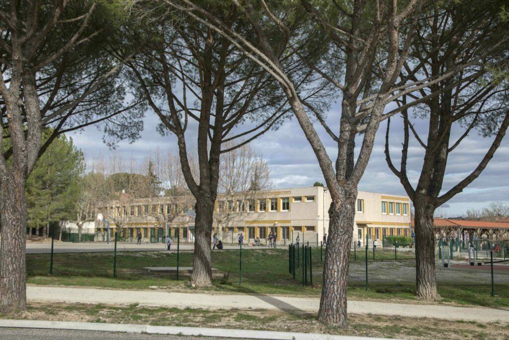 Groupe scolaire du Petit Lac à Cabriès-Calas ©thierrypouget