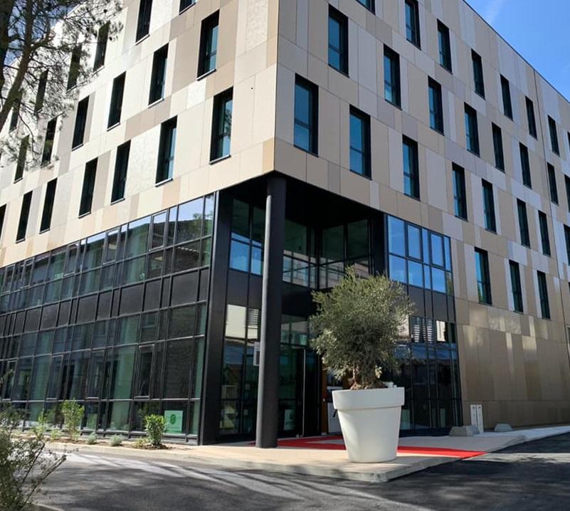 Bâtiment Rifkin - Technopole de l'environnement Arbois
